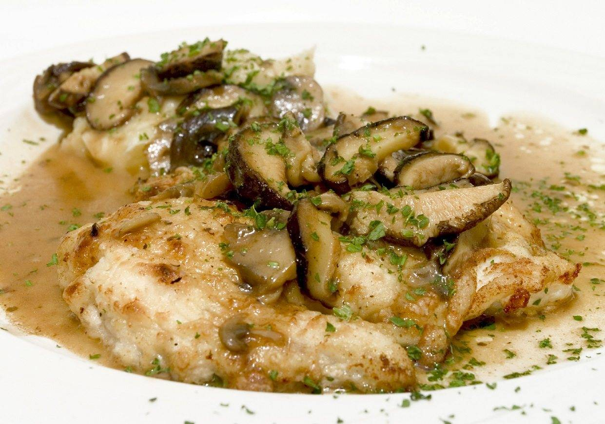 Marsala Chicken with Sauteed Mushrooms