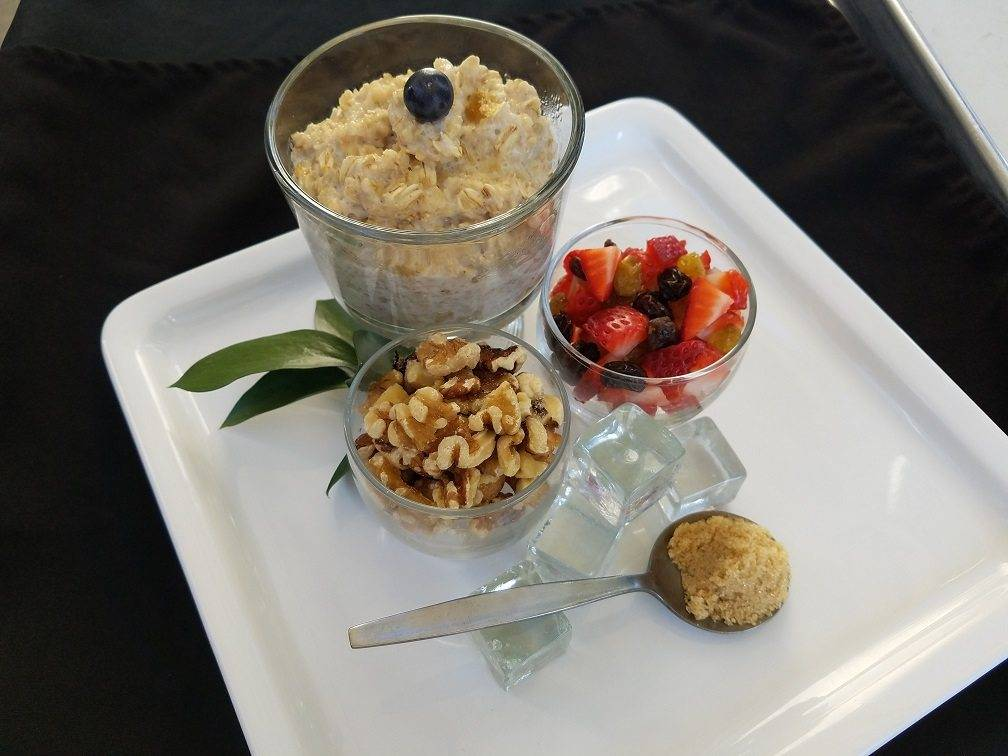 Build Your Own Oatmeal Bar