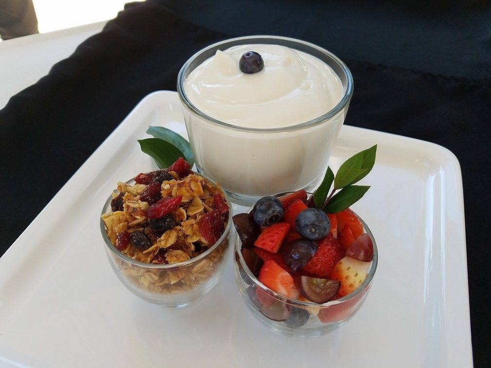 Greek Yogurt Parfait Bar