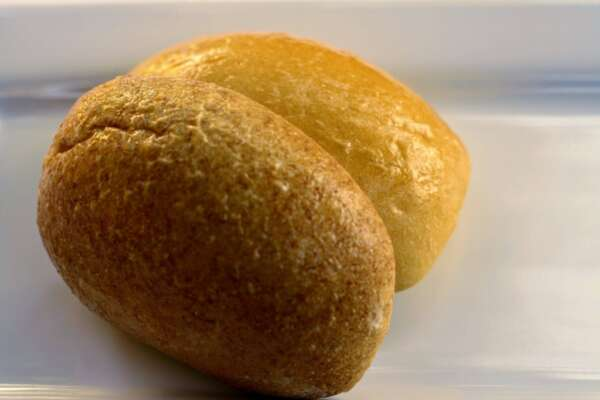 Wheat and White Rolls