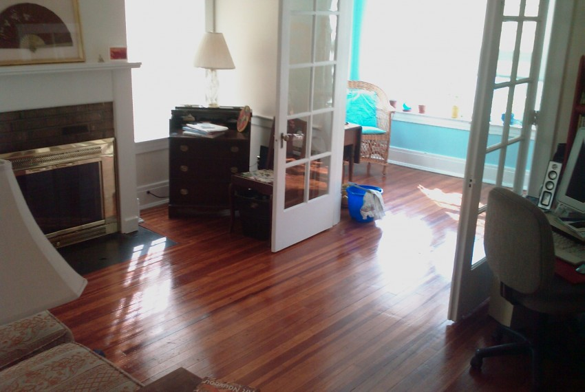 228 L.A.#201 Living Room  French Doors