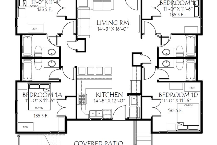 202WA 1st Floor Plan