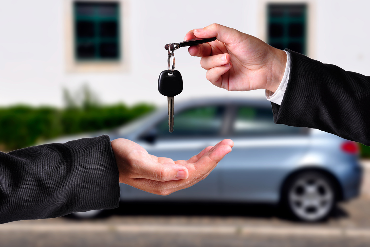 handing over the keys after i sell my vehicle