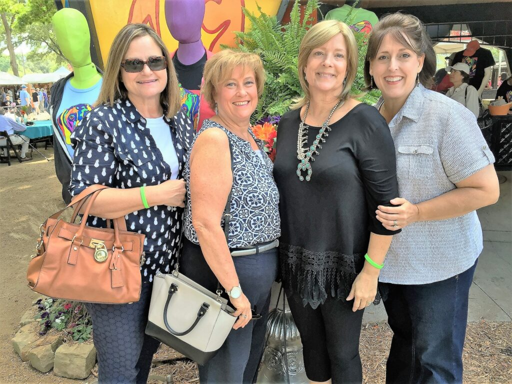 Pictured left to right: Lisa Leininger, Nancy Lembke,   Jane Fitzgerald and Laurie Calloway