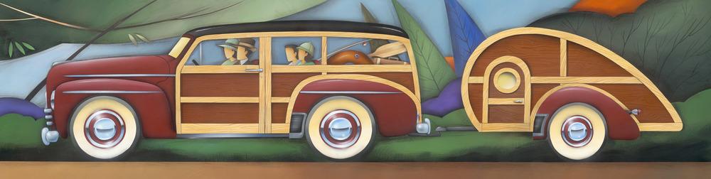 Vintage Camper by Brian Jensen