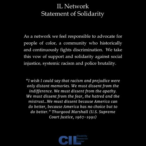 IL Network Statement of Solidarity