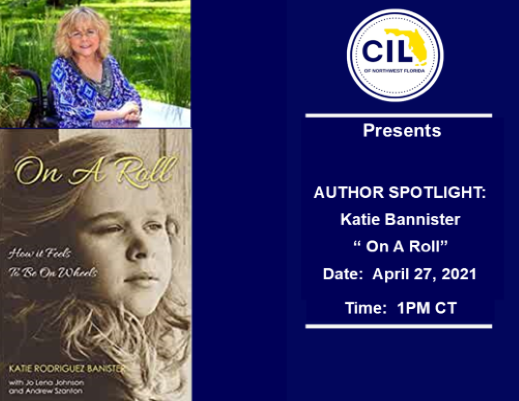 """Author Spotlight with Katie Bannister with her latest book """"On A Roll"""