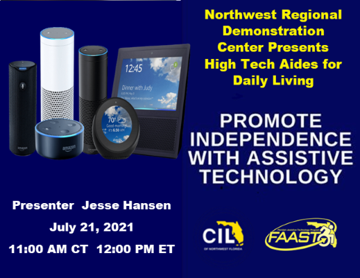Promote Independence with Assistive Technology Series: High Tech Aides for Daily Living
