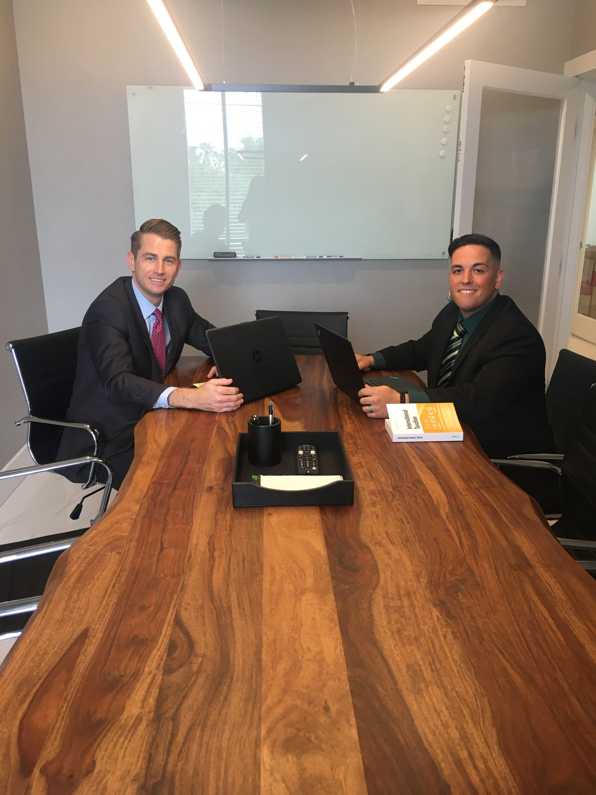 international tax advisors inc. miami ft. lauderdale doral international tax accountant drew r edwards CPA 2020 intern