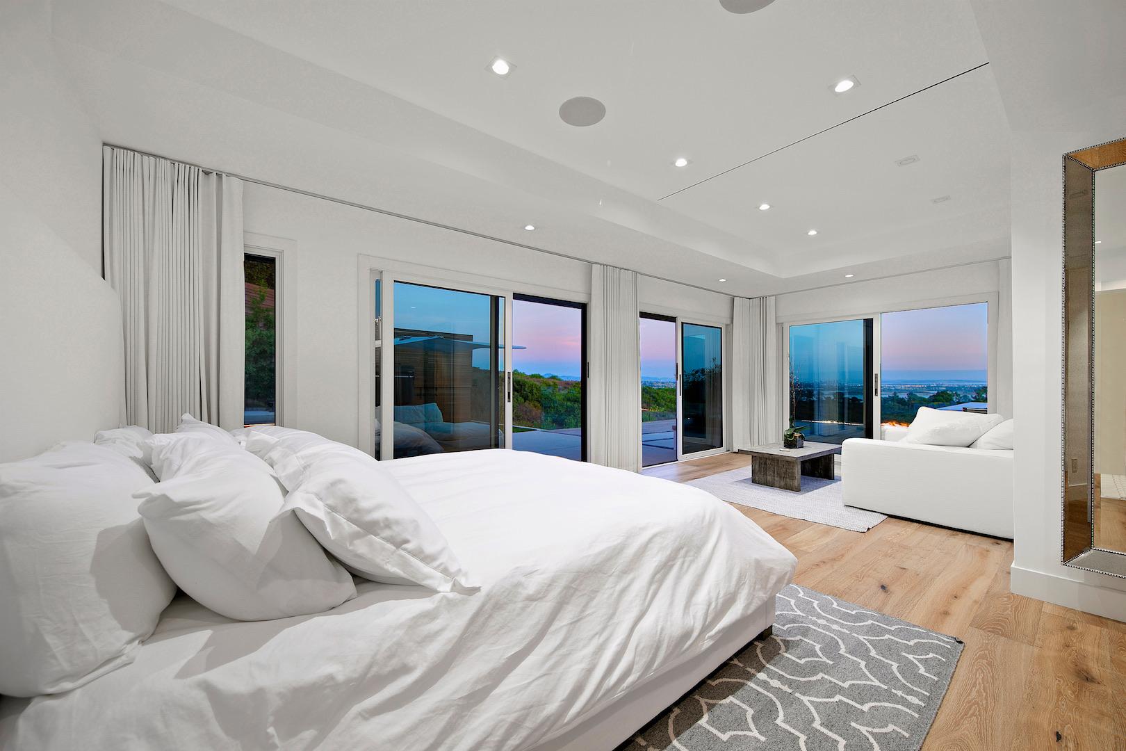 Soledad Mountain Master Bedroom