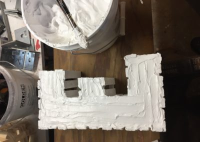 Gesso-ing Letters