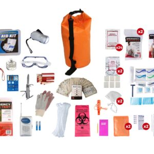 2 Person Elite Waterproof Survival Kit