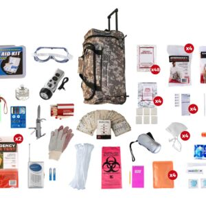 4 Person Elite Camo Survival Kit