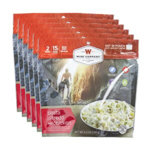 Pasta Alfredo Cook in Pouch
