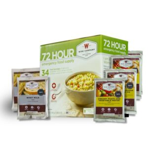 72 Hour Food Supply
