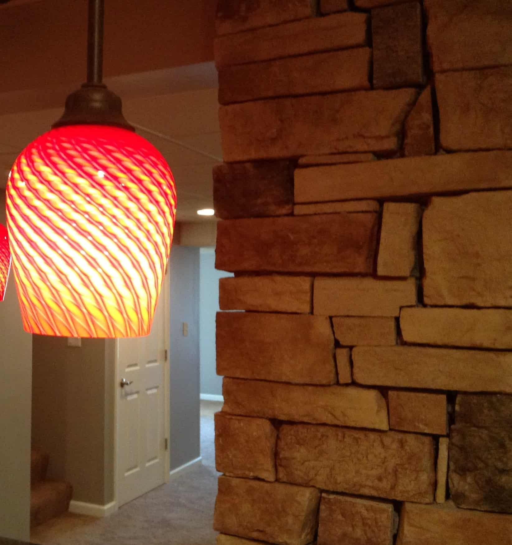 Brick interior design