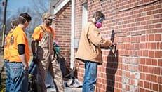 Massey Tuckpointing mortar repair