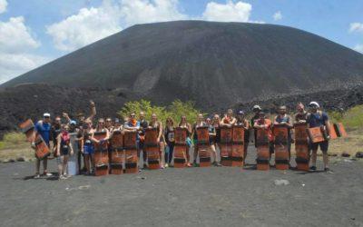 ACTIVE VOLCANO BOARDING: Leon, Nicaragua