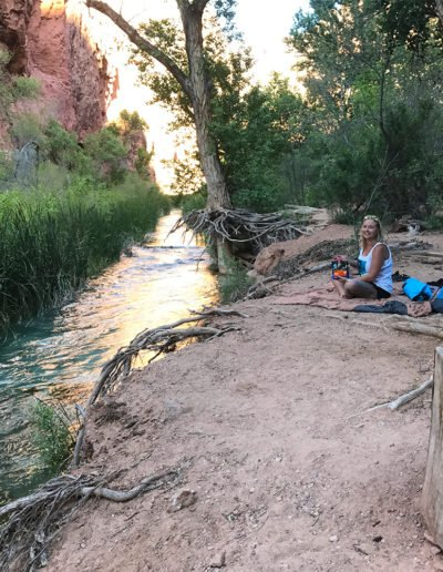 Campsite at Havasupai