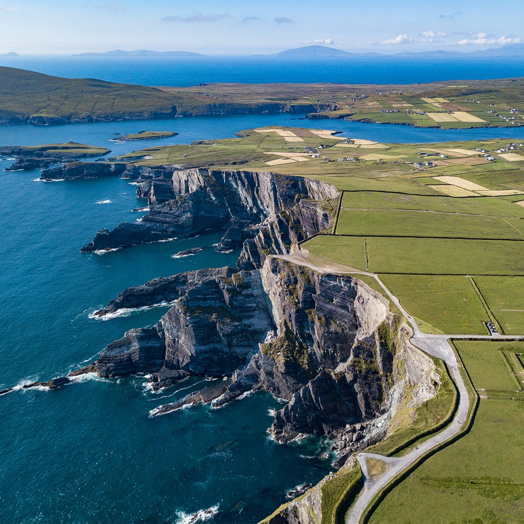 Drone Photo of Kerry Cliffs