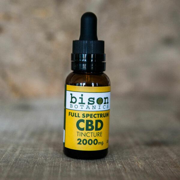 2000mg full spectrum CBD oil tincture