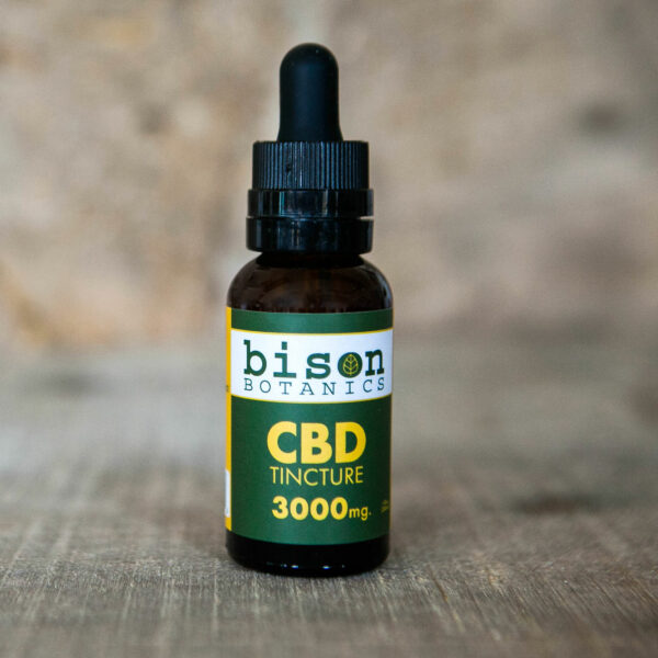 3000mg CBD isolate oil tincure