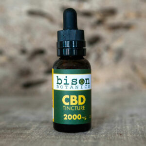 2000mg CBD isolate oil tincture