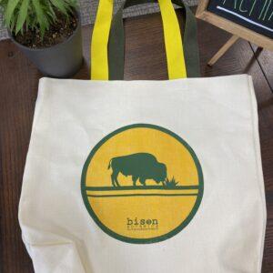 bison botanic tote bag