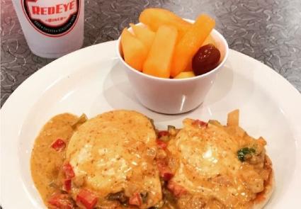 cajun style eggs benedict diner charlotte
