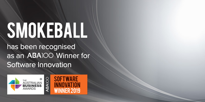 Smokeball Conveyancing Software - ABA100 Software Innovation