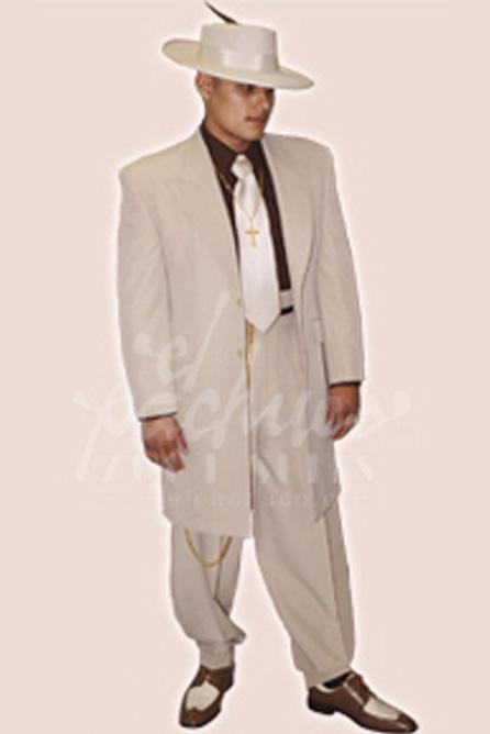 Tropical Tan Zoot Suit