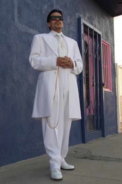 Iceberg White Zoot Suit