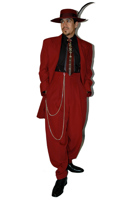 Red Wine Zoot Suit