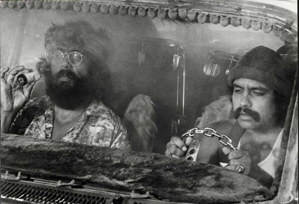 Whoa, 'Cheech & Chong's Up in Smoke' is 40 years old, man