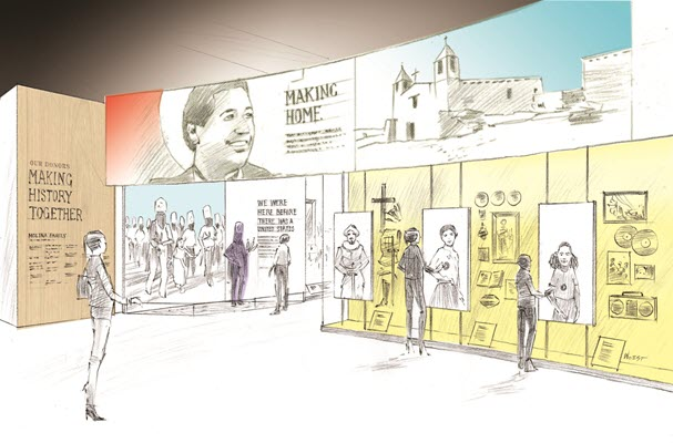 A California family's donation leads to the Smithsonian's first permanent Latino gallery