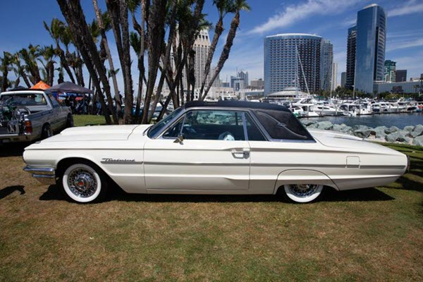 Low and slow: Car clubs celebrate unique lowrider culture of the Southwest: Ford Thunderbird