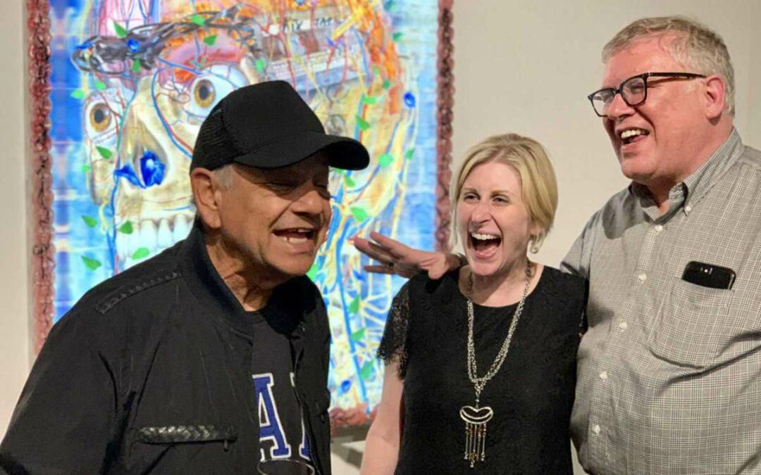 Cheech Marin tours Houston's Latino art scene