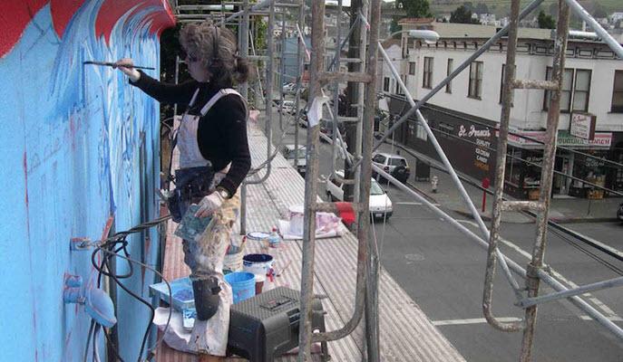 Muralist Juana Alicia on making art inspired by poetry