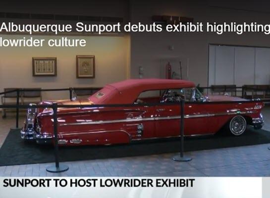 Albuquerque Sunport debuts exhibit highlighting lowrider culture