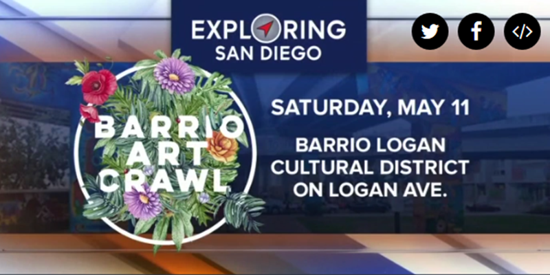 Culture, artistry take center stage during Barrio Logan Art Crawl