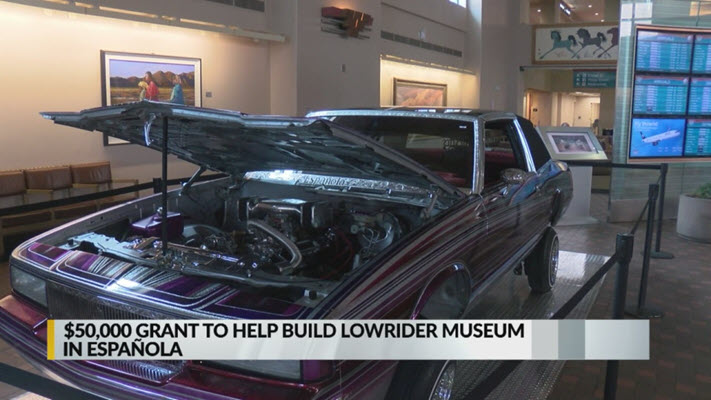 Grant to help fund creation of Espanola lowrider museum