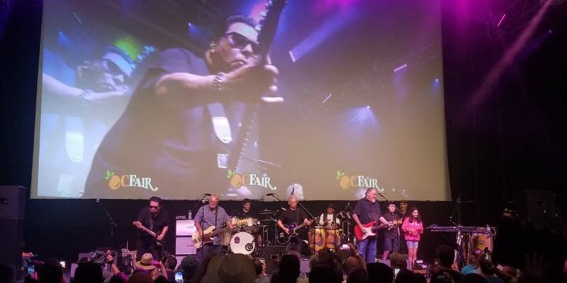 Los Lobos Kick Off Music at the OC Fair