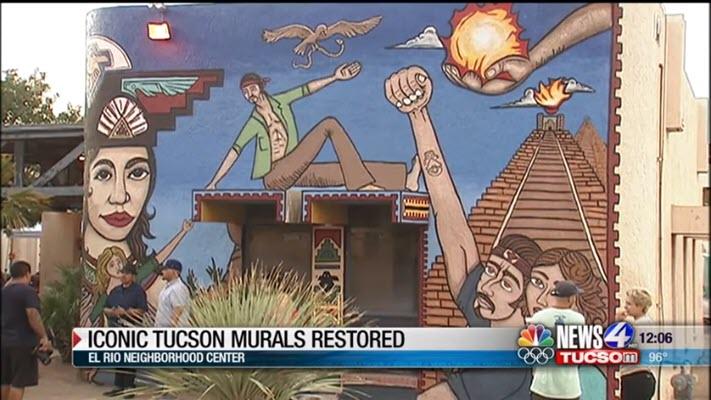 Iconic Tucson murals restored