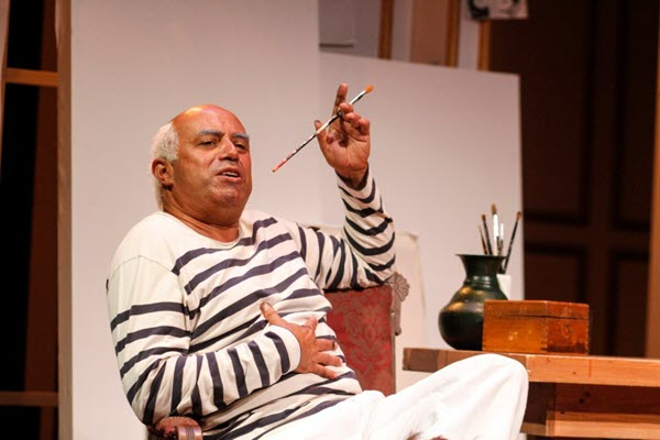 Another 'Weekend With Pablo Picasso,' as writer-actor-painter Herbert Siguenza reprises his solo show