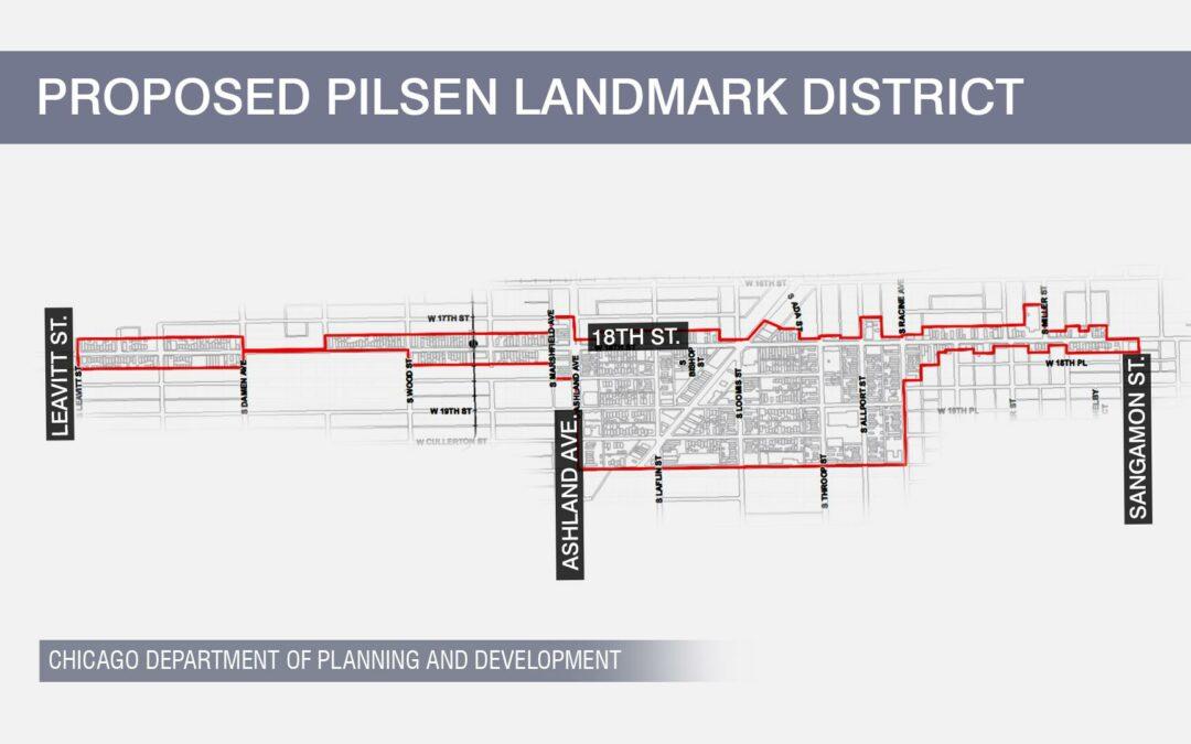 Landmark Status in Pilsen: Good or Bad for the Neighborhood?