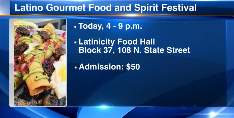 Chicago's Latino Gourmet Food & Spirits Festival brings together top Latino chefs