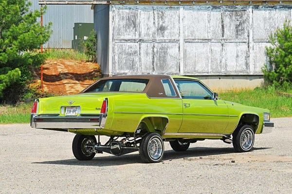 Say Hello to El Caddylon, a Bright Green 1977 Cadillac Lowrider