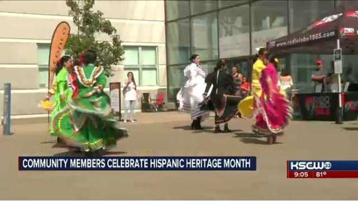 Wichita community kicks off Hispanic Heritage Month at Fiesta Hispana