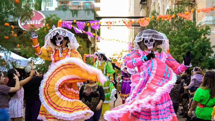San Antonio's Muertos Fest Named Among Top 7 Fall Festivals by National Geographic