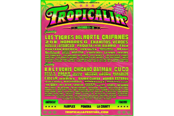 Tropicália 2019 Moves to the Fairplex in Pomona
